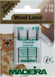 Maschinennadeln für Wollstickgarne St.100/18