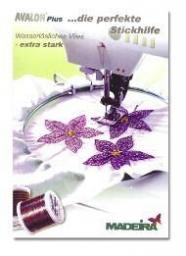 Avalon Plus Water-Soluble Embroidery Backings