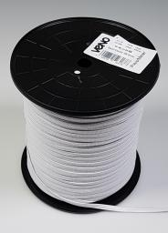 Elastic Tape 6mm White Sold by the meter