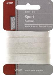 Sport Elastic SB 8mm weiß