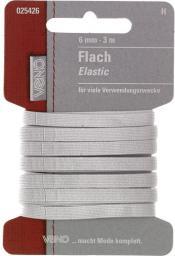 Flach Elastic SB 6mm weiß