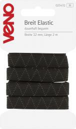 Breit Elastic SB 12mm schwarz