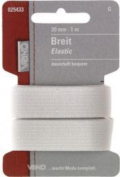 Breit Elastic SB 20mm weiß