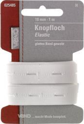 Knopfloch Elastic SB 18mm