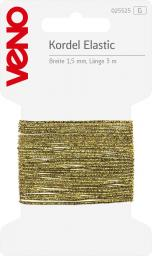 Elastic Kordel SB 1,5mm gold