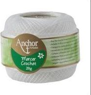 Mercer Crochet (Shiny Crochet Yarn) Size 20 20G