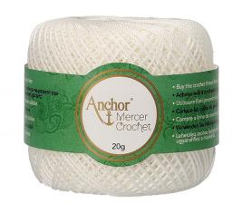 Mercer Crochet (Shiny Crochet Yarn) Size 50 20G