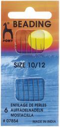 Auffädel Nadeln ST 10-12 silber