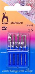 Nähmaschinennadeln 130/705 Standard 80