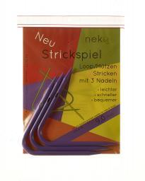 Neko Strickspiel 9,00mm mit 3 Nadeln