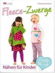 Fleece-Zwerge Nähen für Kinder Größe 86-128