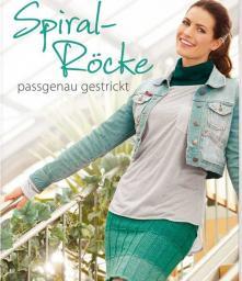 Spiral Röcke passgenau gestrickt