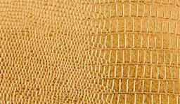 Kunstleder-Zuschnitt Metallic Glänzend Gold 66x45cm