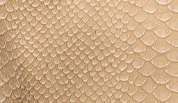Kunstleder-Zuschnitt Caiman Beige 66x45cm
