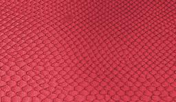Kunstleder-Zuschnitt Leguan Rot 66x45cm