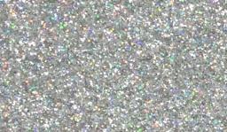 Glitzerstoff-Zuschnitt Silber 66x45cm