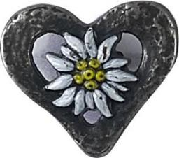 Button with eyelets folklore costume 15mm
