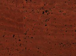 Korkstoff Surface Ziegelrot