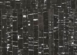 Korkstoff Natur Schwarz mit silber