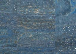 Korkstoff Surface Jeansblau
