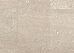 Cork Fabric surface pearl white