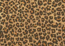 Cork Fabric Leopard