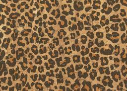 Korkstoff Leopard