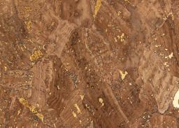 Cork Fabric Marble Bronze