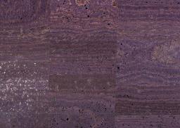 Cork Fabric surface eggplant
