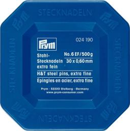Stecknadeln ST 0,60 x 34 mm silberfarbig