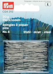 H&T steel pins 30x0.60 si-col        20g