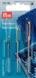 Wool ndls w/o pt H&T 1,3,5 si/go-col 3pc