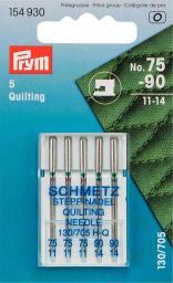 Nähmaschinennadeln 130/705 Quilting 75+90