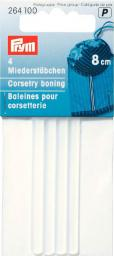 Corsetry boning 8cm transparent      4pc