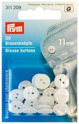 Blusenknöpfe KST 11 mm perlmutt