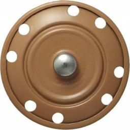 Annähdruckknopf 35mm beige