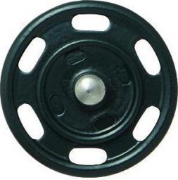 Annähdruckknopf 25mm dunkelblau