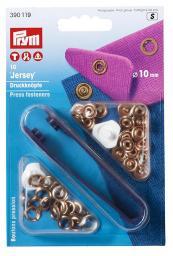NF-Druckknopf Jersey MS 10 mm verkupfert