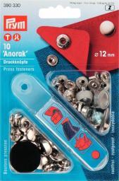NF-Druckknopf Anorak MS 12 mm