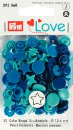 Prym Love Color press. fast. plastic Star 12.4mm