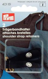 Should strap retai+safety pin black2pc