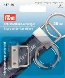 Clasp set for key ribbon