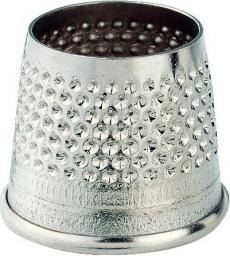 Open tailor's thimbles steel