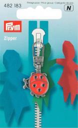 Fashion-Zipper für Kinder Käfer