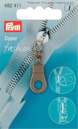 Fashion-Zipper Öse altmessing