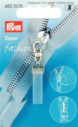 Fashion-Zipper Crystal transparent matt