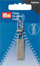 Fashion Zipper puller handmade silver-coloured
