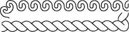 Quilt-Schablone Wellen