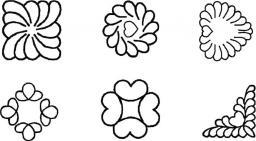 Quilt-Schablone Minis