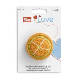 pin cushion / fixing weights orange